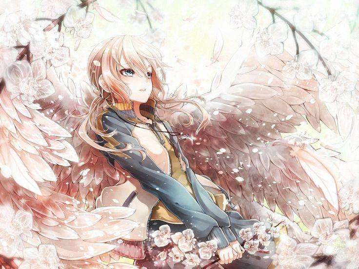 תוצאת תמונה עבור anime angel girl