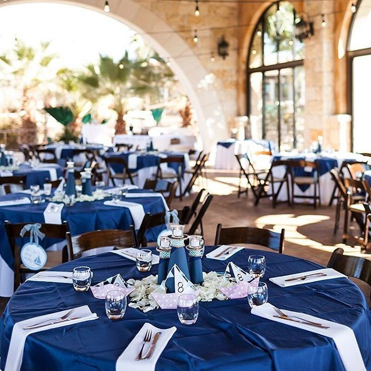 This Nautical Themed Wedding At The Yatch Club At Rough