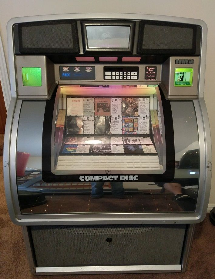 Details about ROWE CD-100 G JUKEBOX  HAS 100 CD's  CLEAN