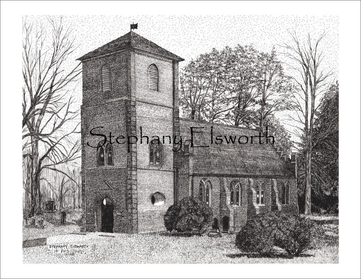 St. Luke's Church, Smithfield, Virginia 8 x 10 PDF