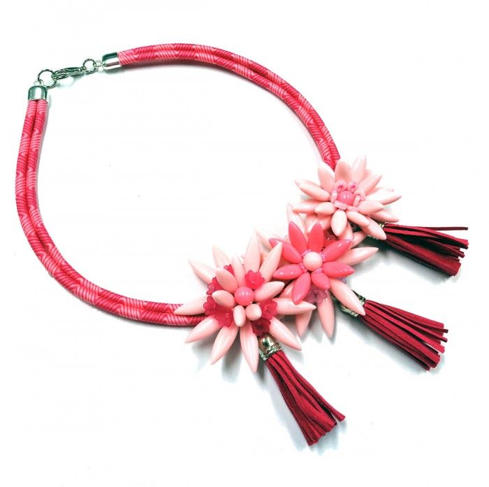 Tropical Punch Necklace by Carmi Cimicata