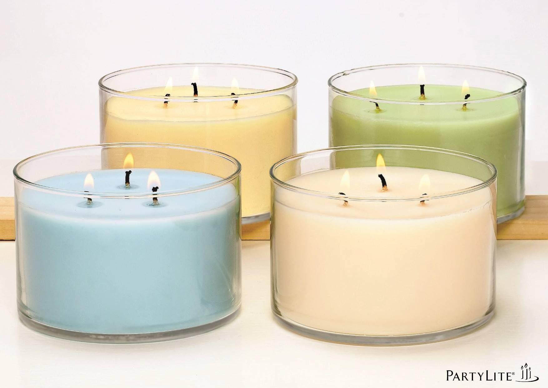 3 Docht Kerzen Im Glas Mit Bildern Kerze Im Glas