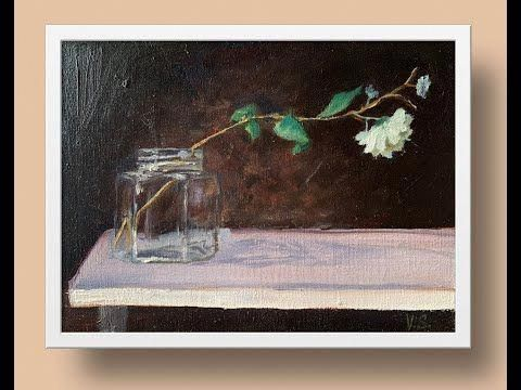 Oil Painting Gesso #OilPaintingEasy #gesso