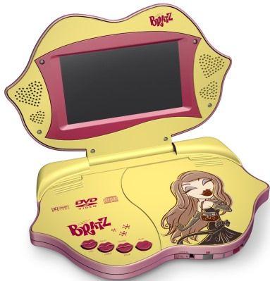 2005 Bratz Dolls -2005 Bratz Dolls Photo Gallery: Bratz Plugged In Portable DVD Player