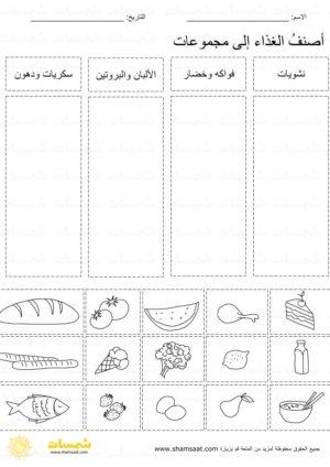 الهرم الغذائي تصنيف الطعام ضمن المجموعات Bullet Journal Journal Notebook