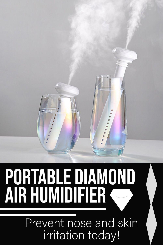 Portable Diamond Air Humidifier in 2020 Air humidifier