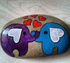 Tas Boyama Sanati Baykus Ile Ilgili Gorsel Sonucu Boyali Kayalar Sanat Pet Rocks
