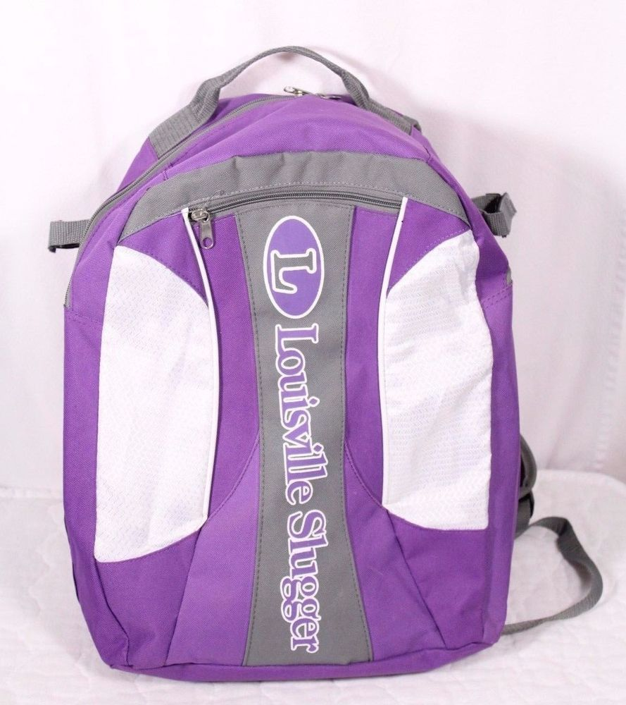 Louisville Slugger Purple Softball Baseball Equipment