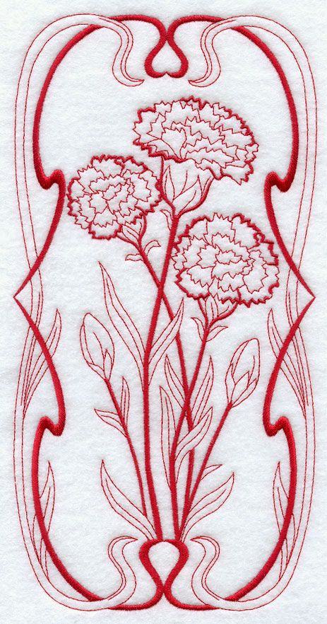 Machine Embroidery Designs At Embroidery Library Red Work