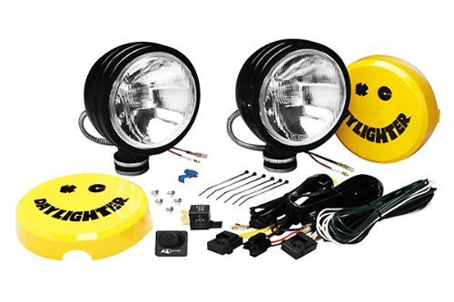 KC HiLiTES 634 Daylighter Black 130w Driving Light System