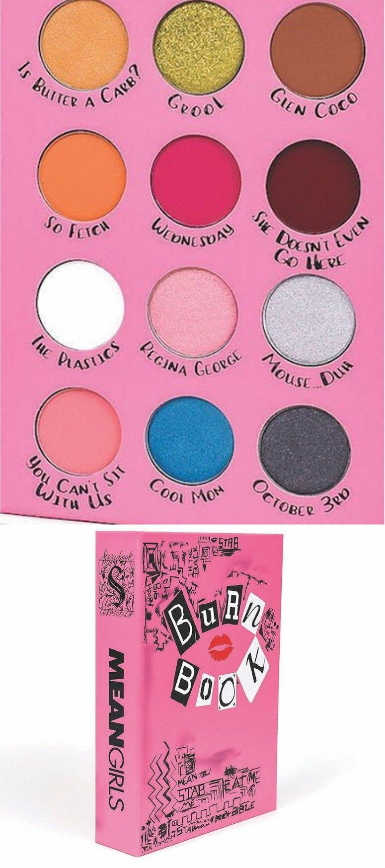 Mean Girls Burn Book Storybook Palette Mean Girls Burn Book Storybook Cosmetics Mean Girls Makeup