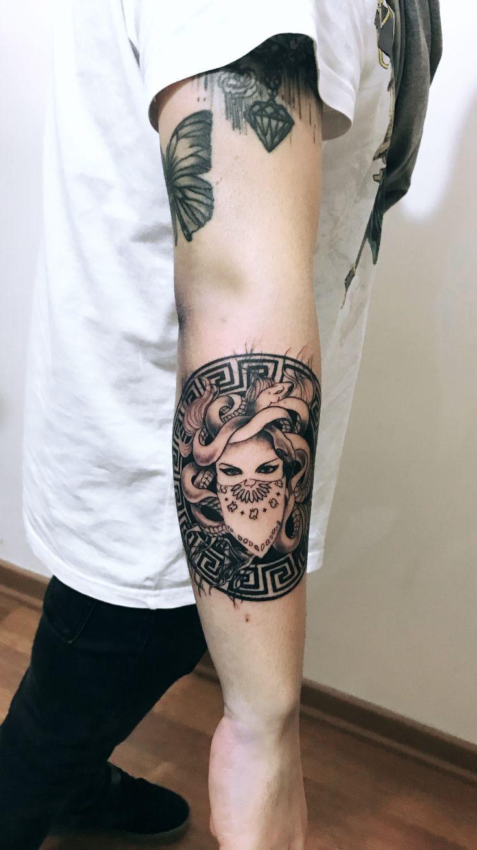 Medusa Illustration Tattoo: Medusa Tattoo Design -