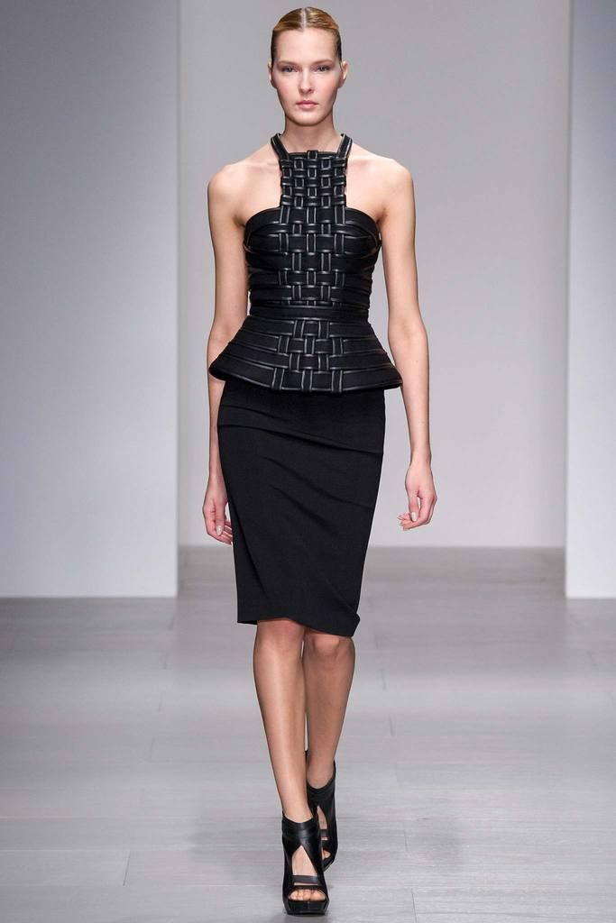 David Koma LFW autumn-winter 2014/2015