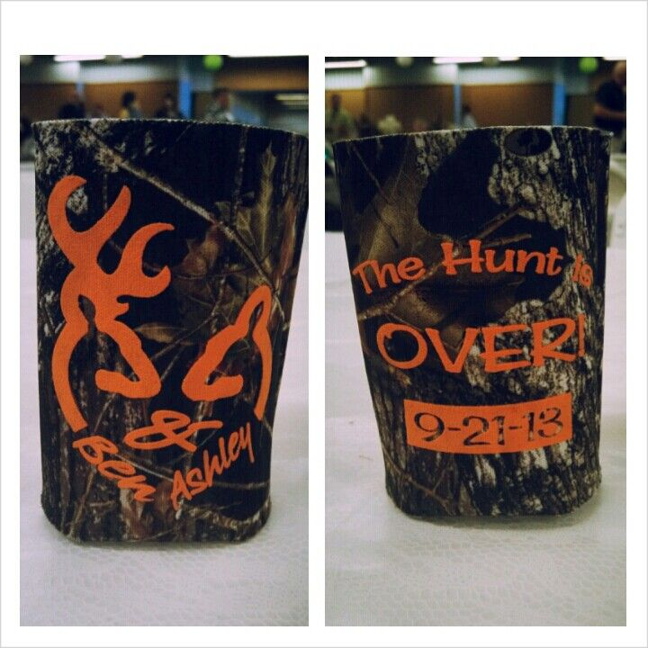 Camo Can Coozie For Wedding Favors These Are Cute Future Wedding