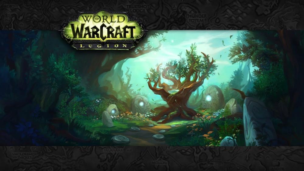 World Of Warcraft Music Ambience The Dreamgrove Youtube In 2020 World Of Warcraft Legion Warcraft Legion Warcraft