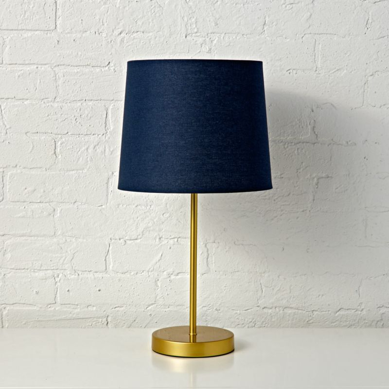 Mix And Match Dark Blue Table Lamp Shade Gold Table Lamp Table Lamp Shades Table Lamp Base