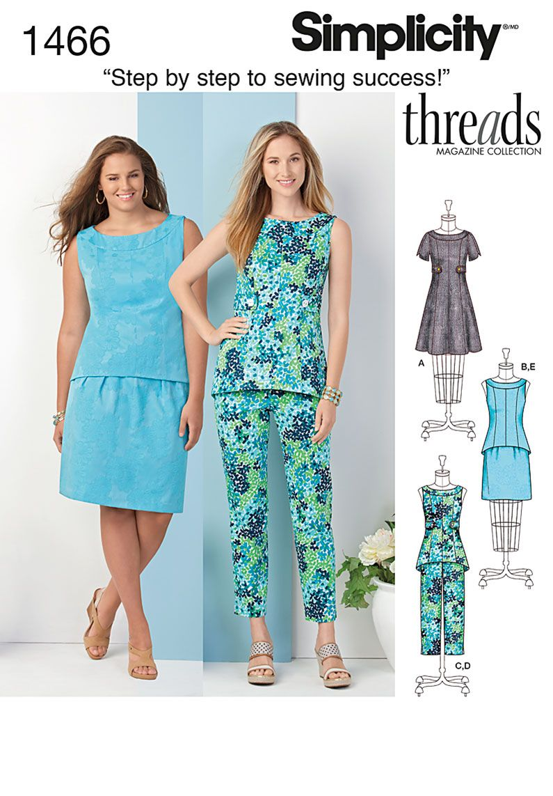 Simplicity Creative Group - Misses\' & Plus Dress, Tunic or Top ...