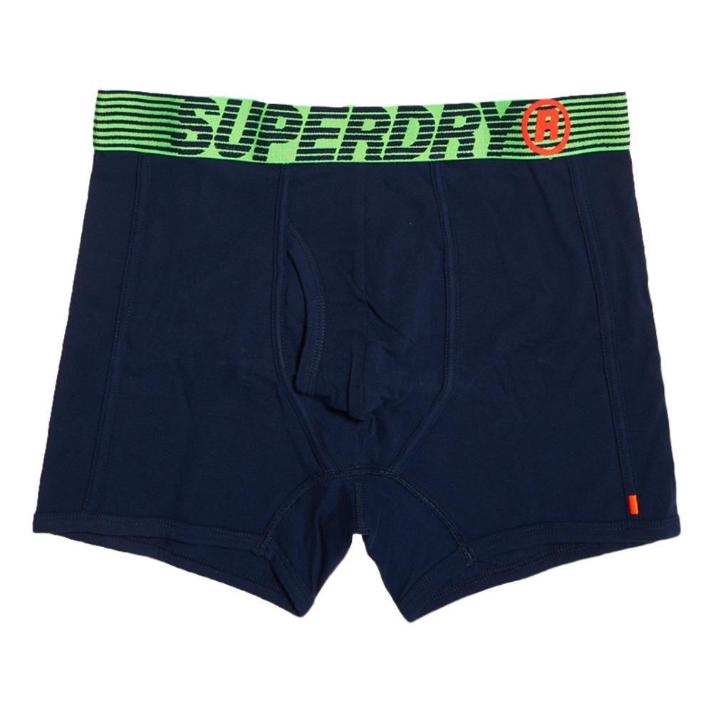 Superdry Speed Sport Double Boxer Pack Richest Navy