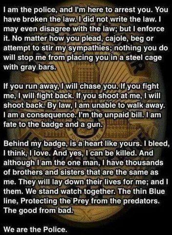 police | Heros | Police quotes, Police life, Police love