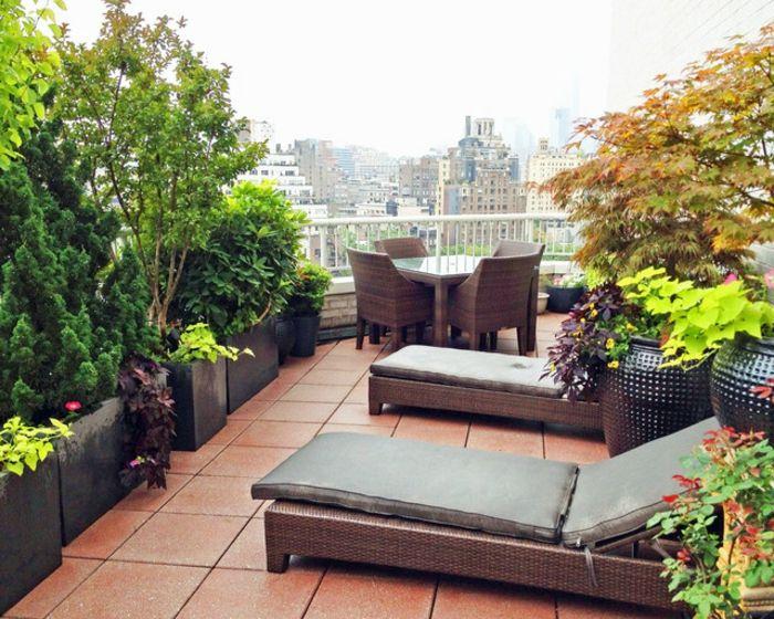 54 Bilder mit Bepflanzung für Dachterrasse – Archzine.net