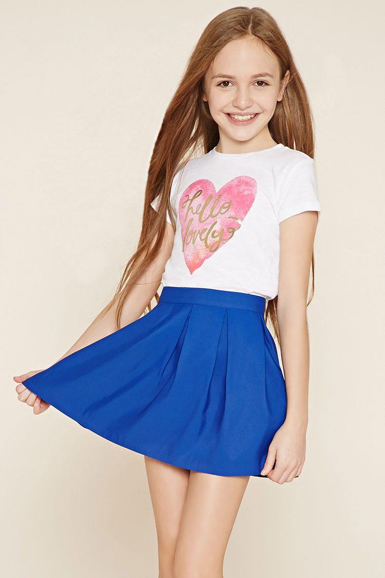 7568c832b Falda plisada (niñas) | ropa | Ropa linda para niñas, Moda para ...