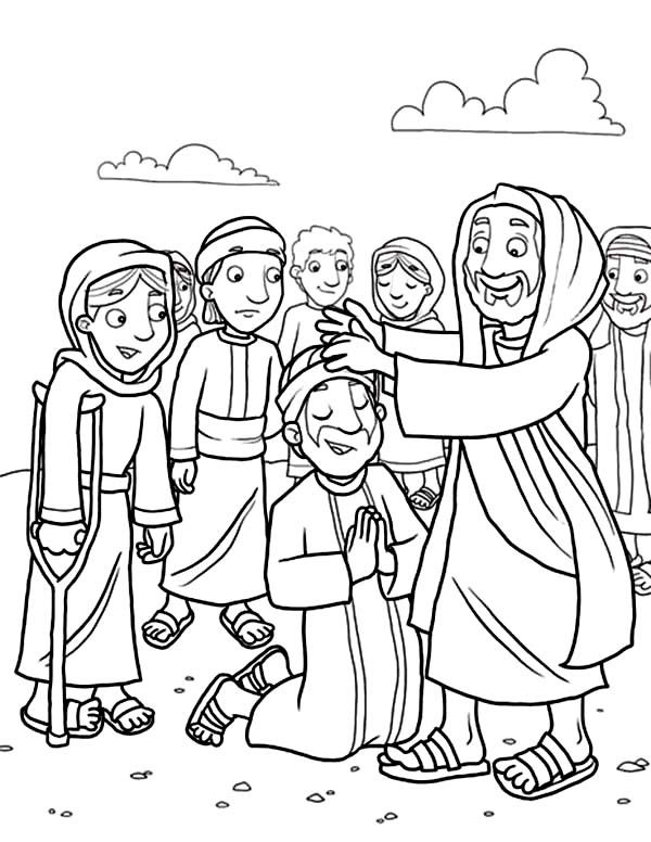 Disciples, : Jesus Heals the Sick with His Disciples