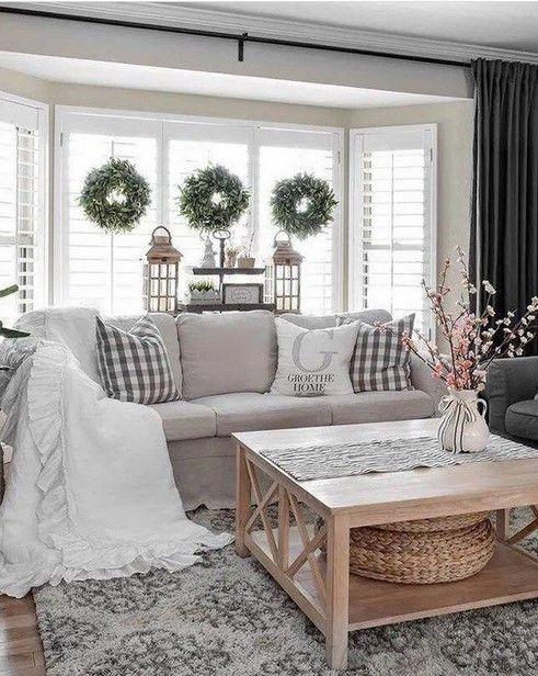 Best Farmhouse Style Ideas 10 Rustic Home Decor Ruang Tamu Rumah Dekorasi Ruang Tamu Ide Dekorasi Rumah