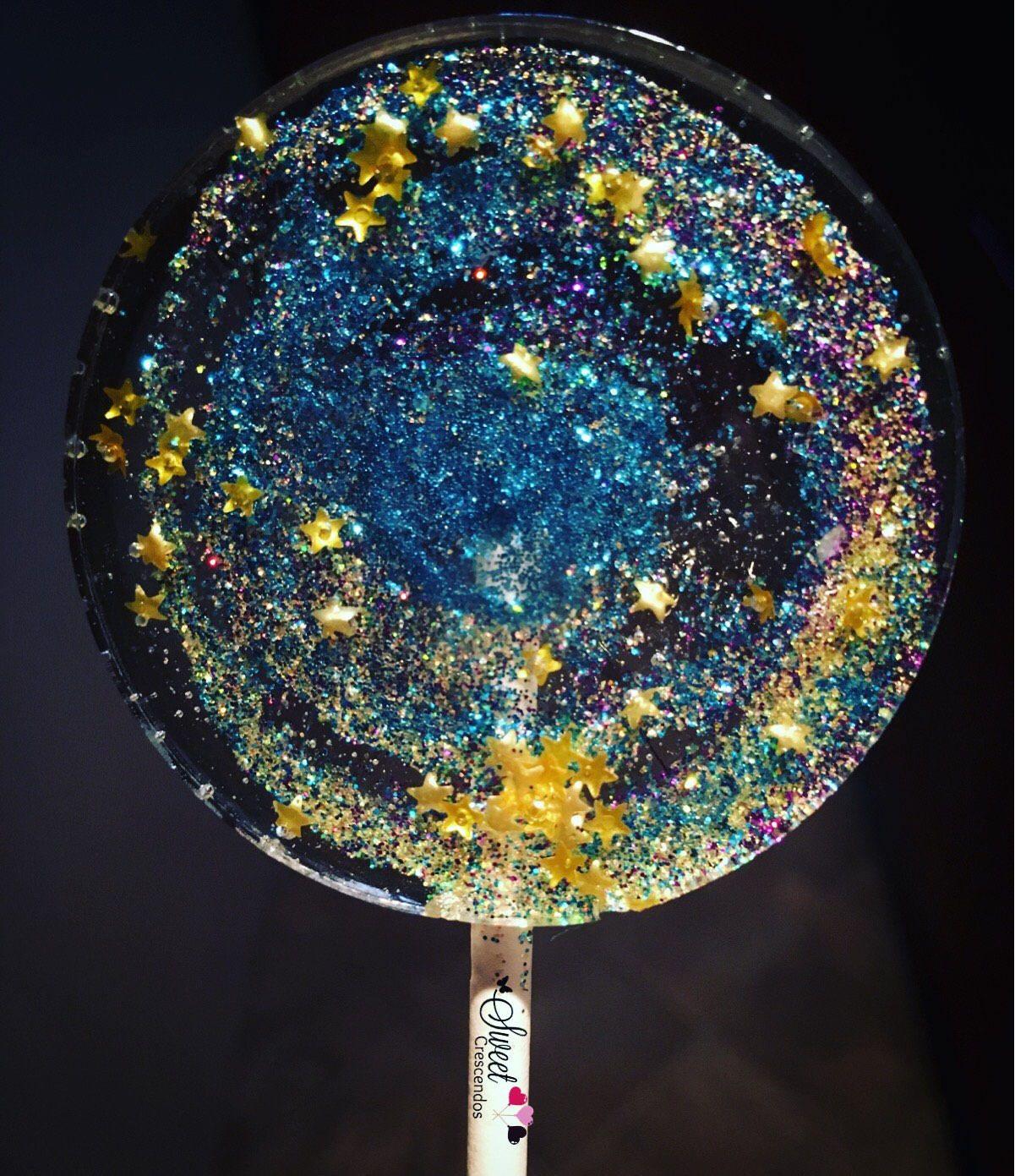 Gifts For Wedding Night: Galaxy Lollipops- Birthday- Hard Candy Lollipops- Wedding