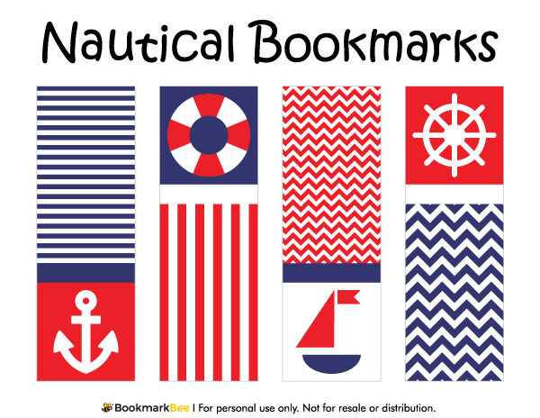 Free printable nautical bookmarks download the pdf template at free printable nautical bookmarks download the pdf template at httpbookmarkbee pronofoot35fo Image collections