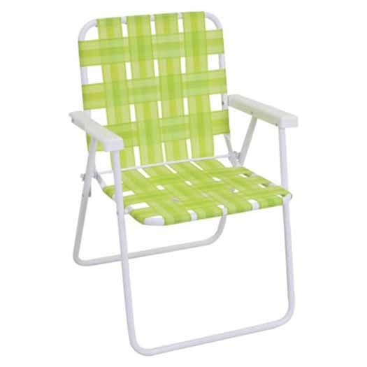 Outdoor Folding Strap Chair from Target