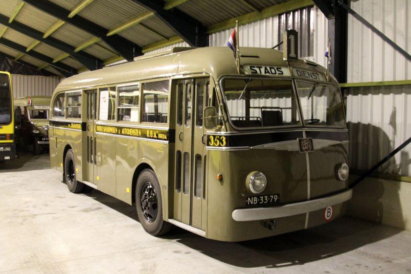 1947 Ford Trambus - Jongerius stadsbus van BBA