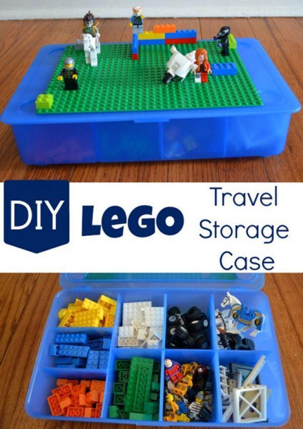 14 Lego Organization Ideas #legostorage