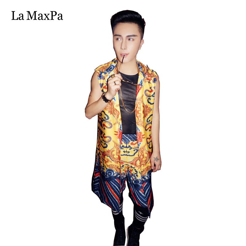 >> Click to Buy << La MaxPa Female singer costume women jazz stage costume for singers nightclub DJ DS performances dance outfit dragon pattern #Affiliate