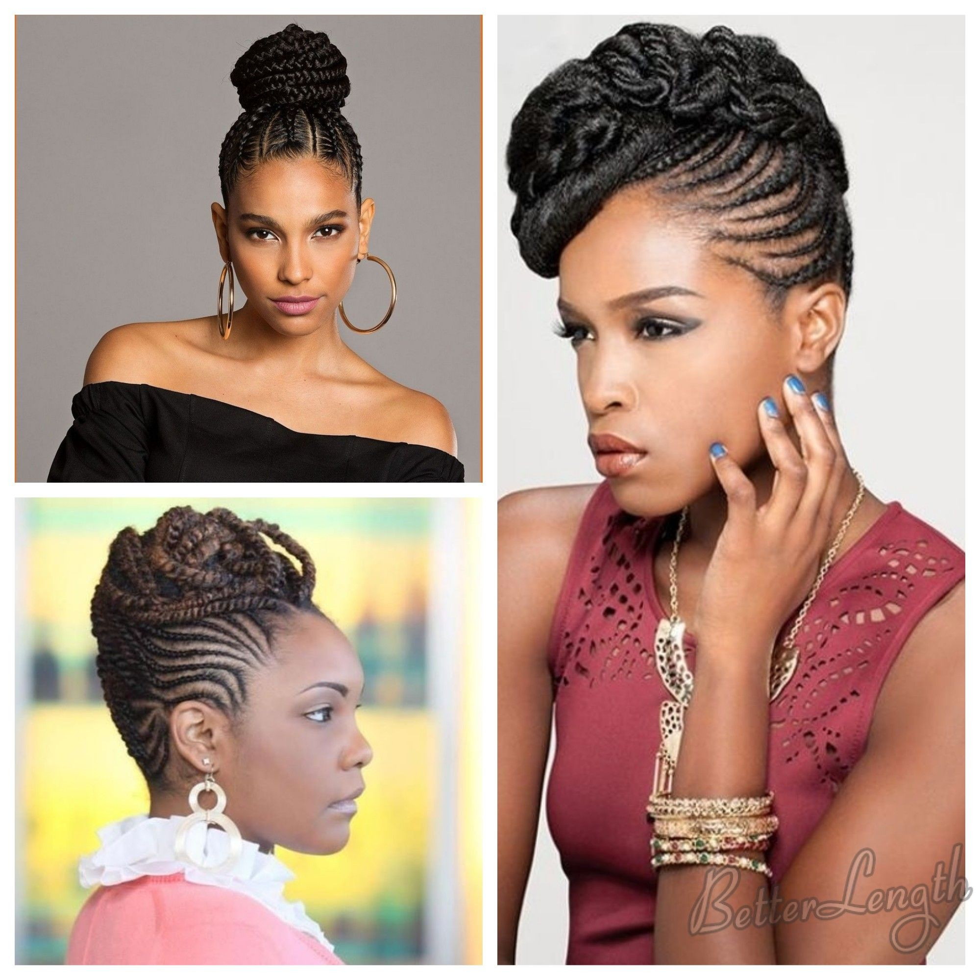 Best 7 Summer Hairstyles for Black Women 2018 | Braided hairstyles updo, Summer hairstyles, Cool ...