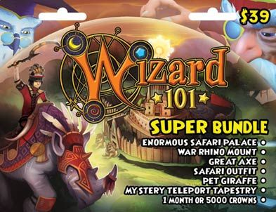 Wizard101 Super Bundle Prepaid Card At Gamestop Free Online