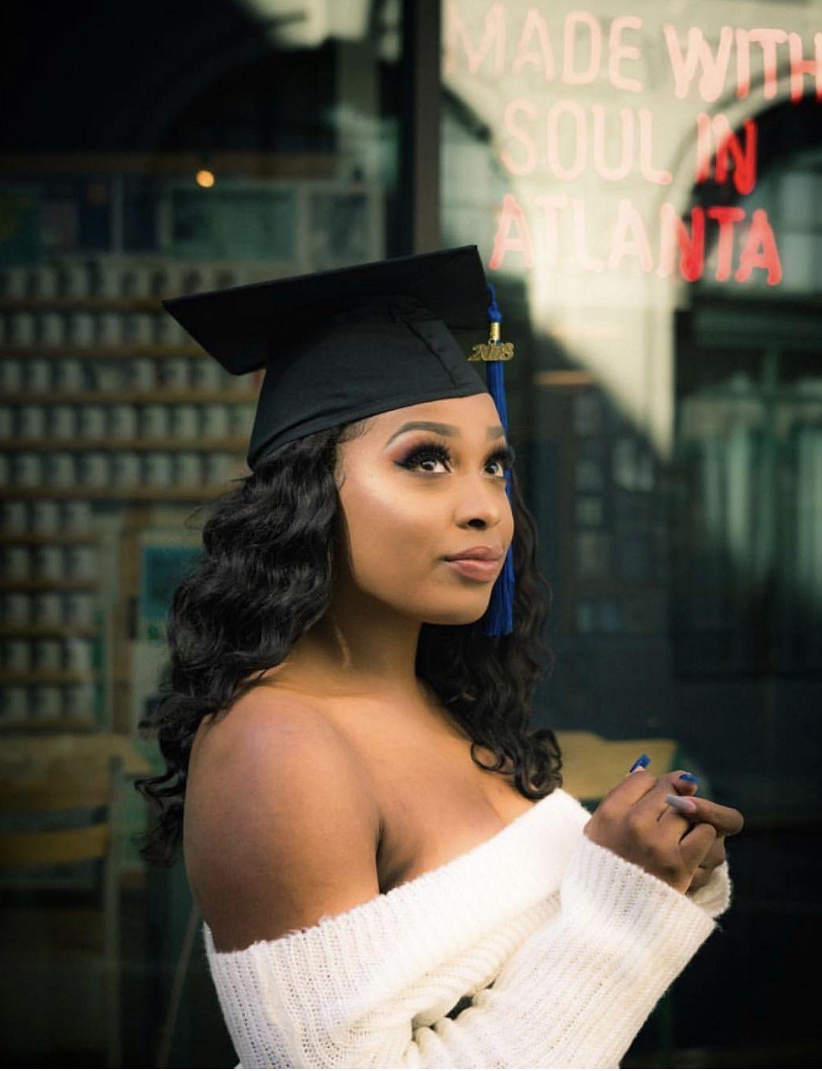 Pin by Laurynduh on Black girls graduate Girl graduation