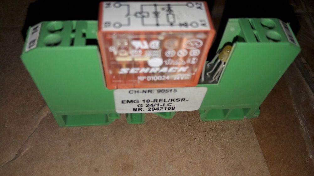 Phoenix Contact Emg 10 Rel Ksr G 24 1 Lc Nr 2942108 Relay Module Phoenixcontact Phoenix Contact Relay 10 Things