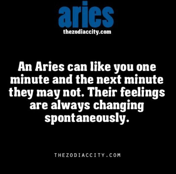 Aries woman mood swings