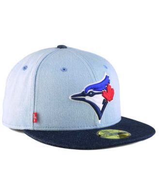 really comfortable attractive price best prices New Era Toronto Blue Jays X Levi 59FIFTY Fitted Cap - Blue 7 1/8 ...