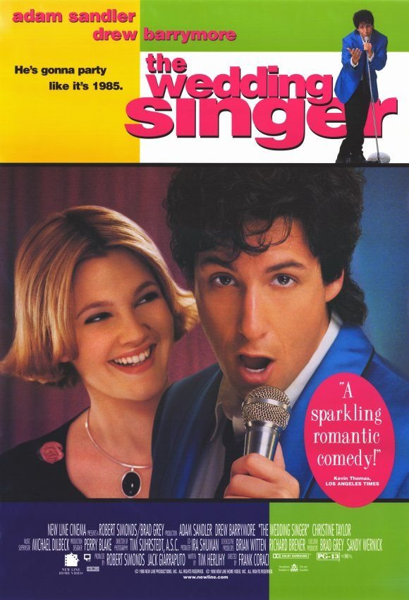 Off Our Shelf Movie Review The Wedding Singer 1998 The Wedding Singer Wedding Singer Movie Wedding Movies