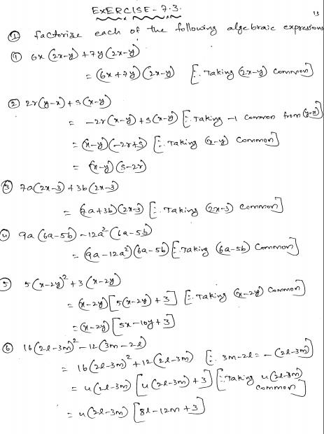 RD-Sharma-Class-8-Solutions-Chapter-7-Factorization-Ex-7.3-Q-1 ...