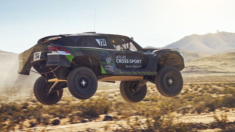 The VW Atlas Cross Sport R jumps into L.A. Auto Show