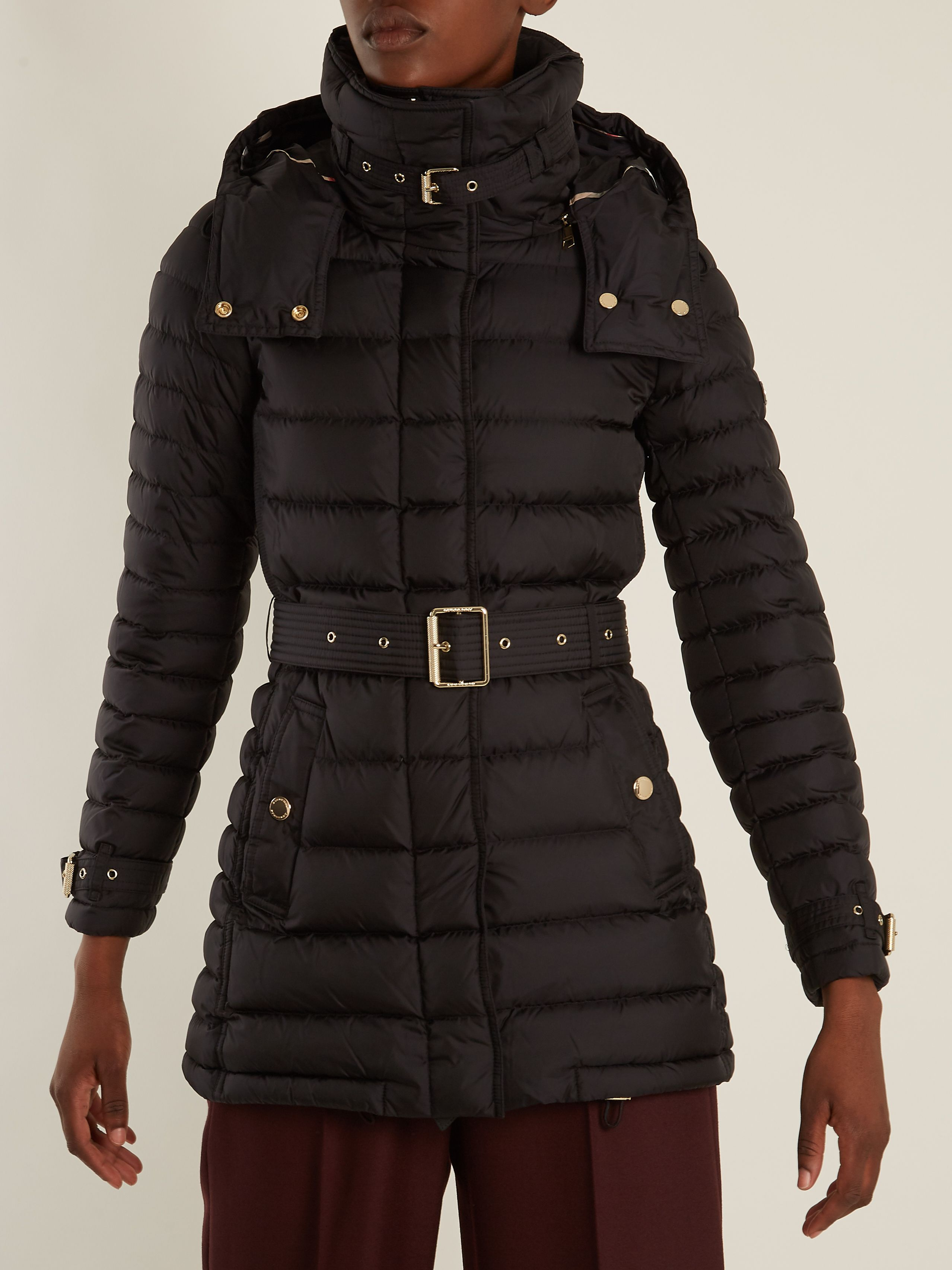 743e7e299b4b Click here to buy Burberry Harrowden belted quilted down coat at ...