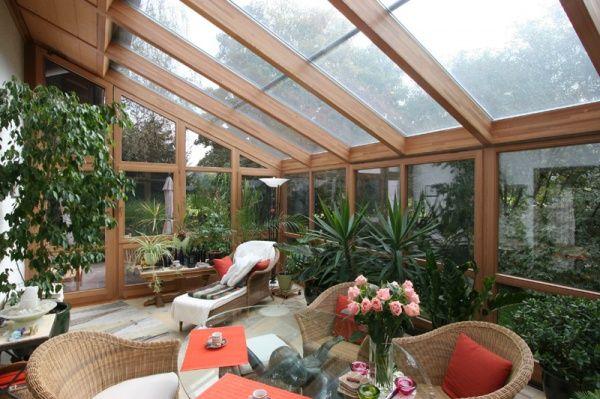 Construccion y decoracion de un jardin de invierno agua - Arredare giardino d inverno ...