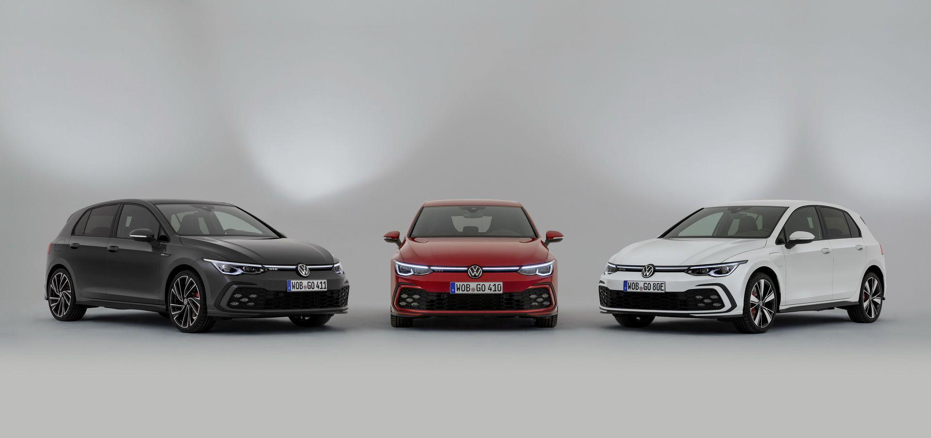 Novo Golf Gti Sera Lancado No Salao De Genebra Volkswagen Volkswagen Golf Novo Golf