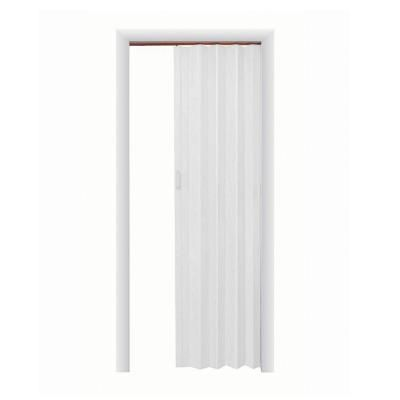 Spectrum 36 In X 96 In Express One Vinyl White Accordion Door