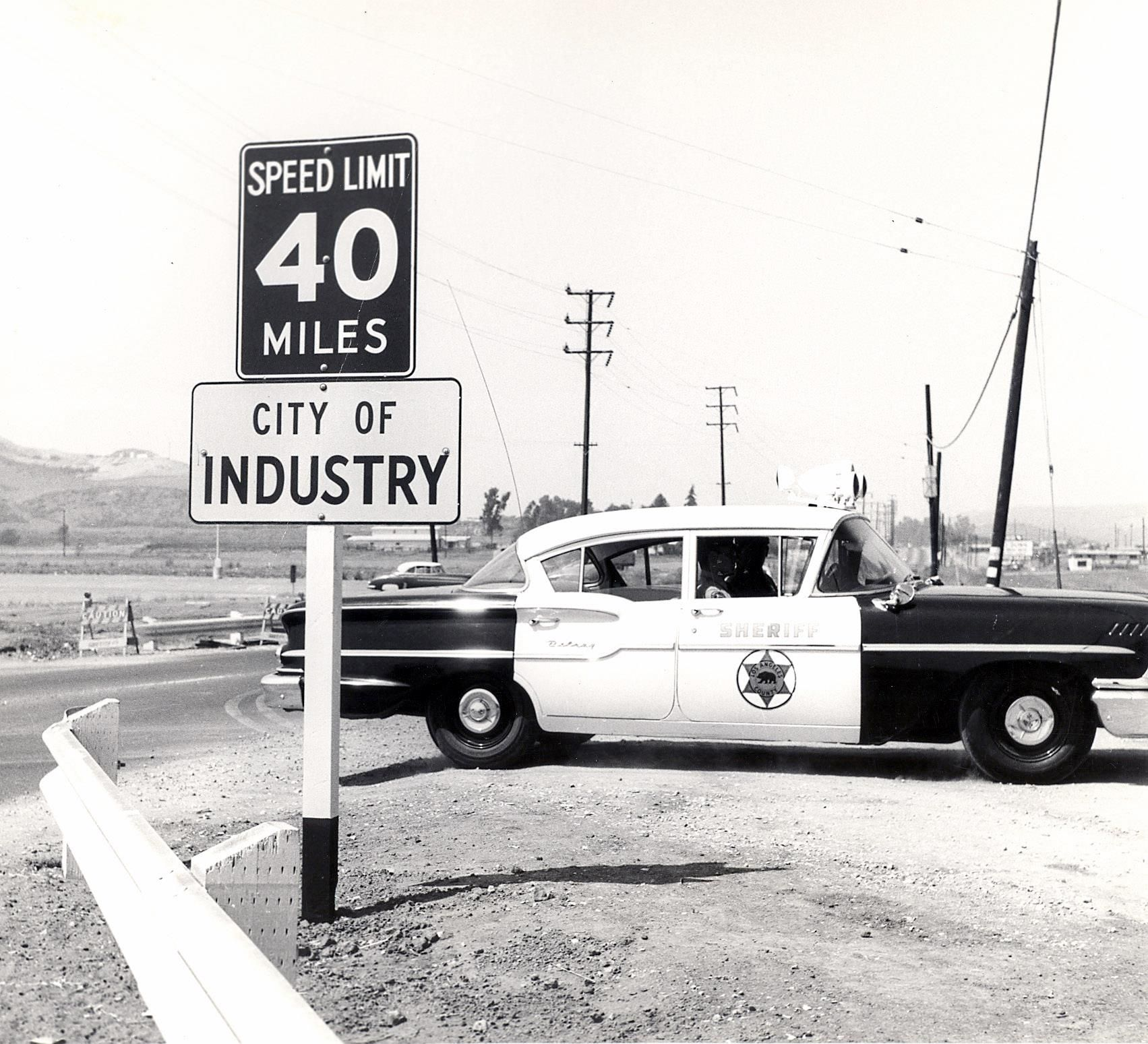 Ford Dealerships Los Angeles: City Of Industry, LAPD 1958 Chevrolet