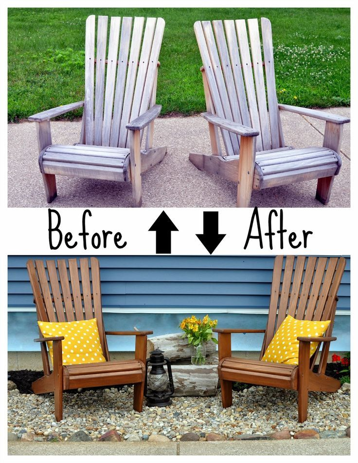 Amazing A Nurse And A Nerd: Weather Proofing The Adirondacks (wood Outdoor Chairs)