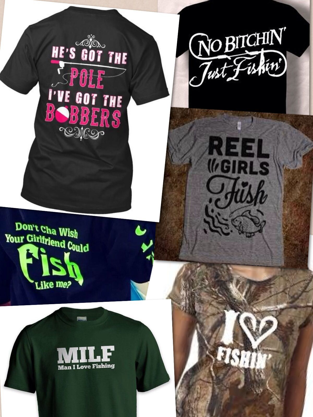 Fun female fishing t shirts custom shirts and for Fishing t shirts