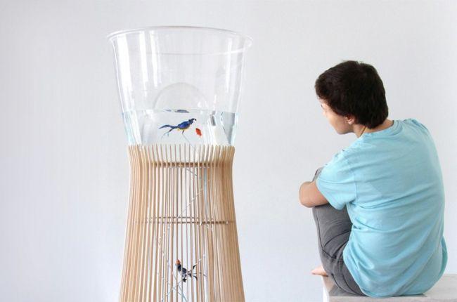 Großartig Käfig Wellensittiche Aquarium Modernes Design